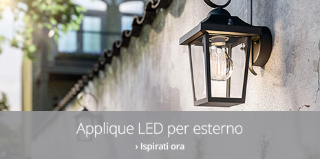 Applique LED per esterno