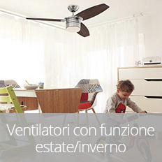 Ventilatore estate inverno